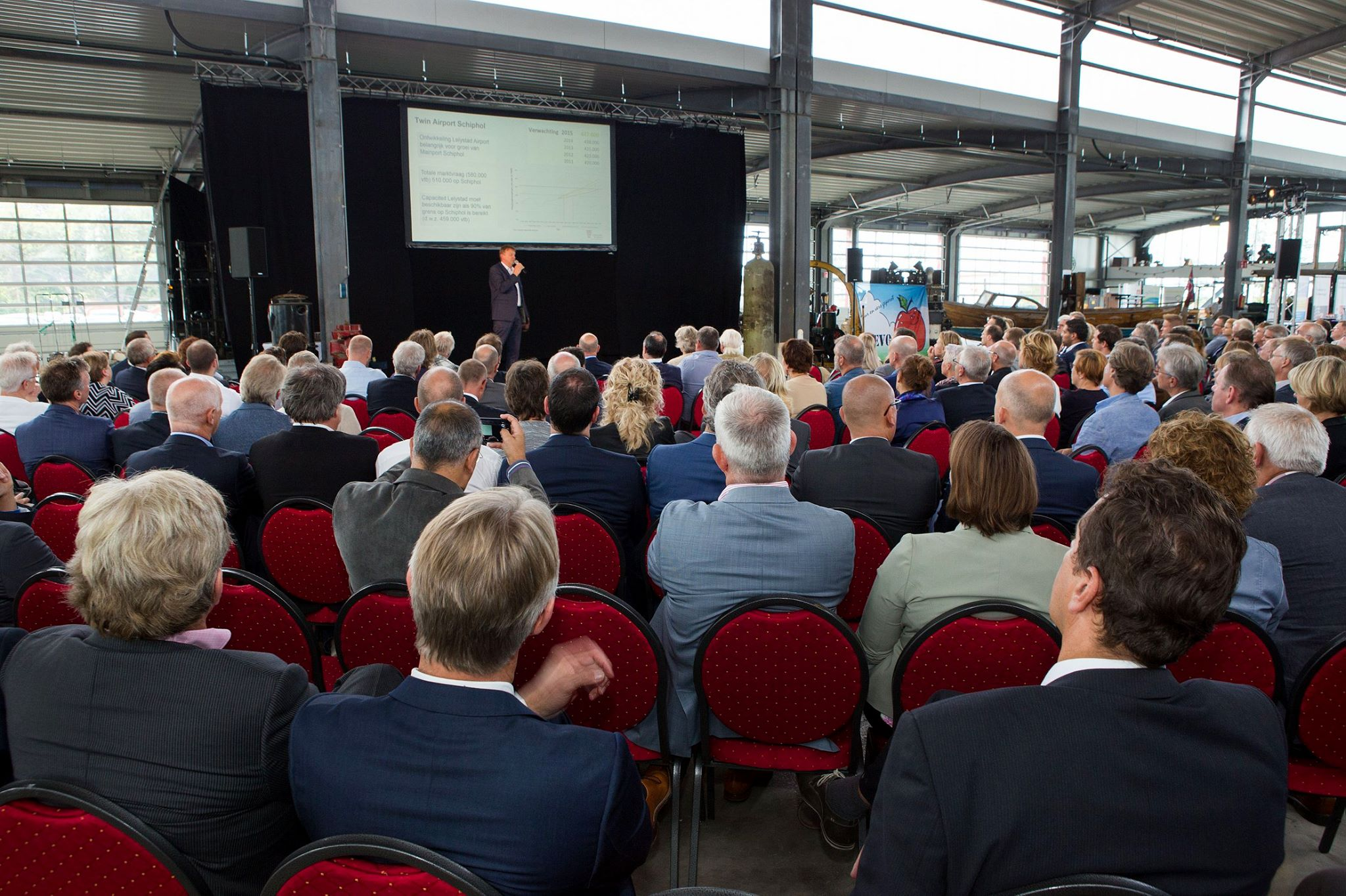 Ondernemers evenement M2O 'Groot succes'