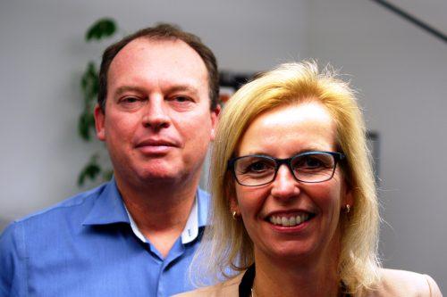 De ondernemersmicrofoon met Rixt Dijkstra en Rob van Puffelen van Dijkstra en Van Puffelen