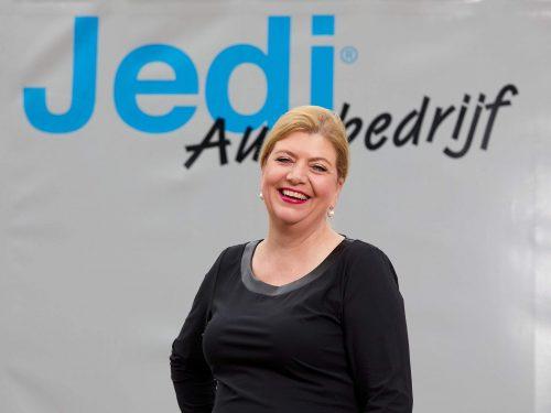 De ondernemersmicrofoon met Esther Graver van Autobedrijf Jedi