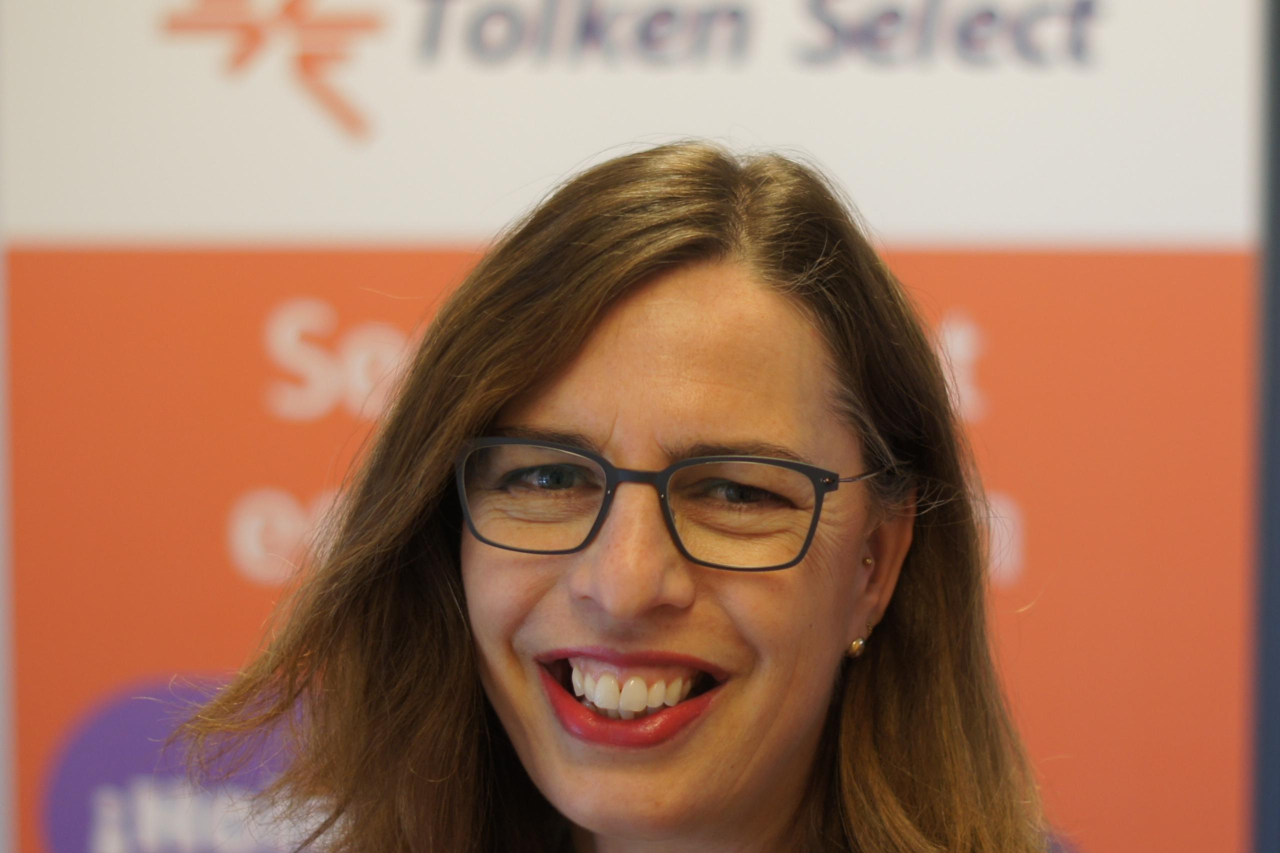 De ondernemersmicrofoon met Anita Meijer van Tolken Select
