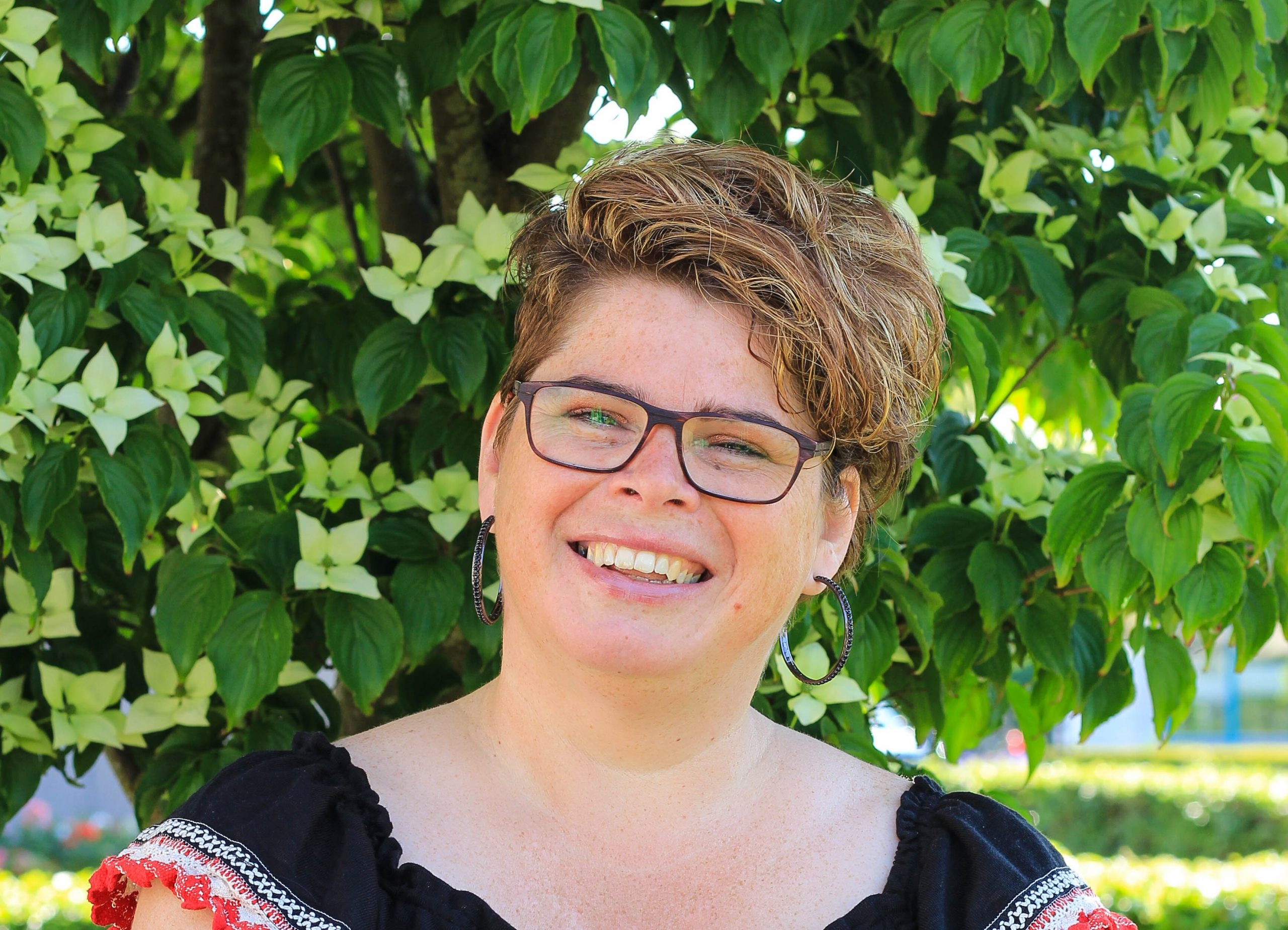 De ondernemersmicrofoon met Erica Schagen van Philagilde