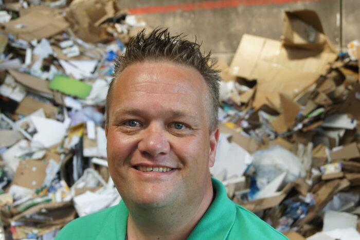 De ondernemersmicrofoon met Hermen-Jan Nieuwenhuis van Renewi