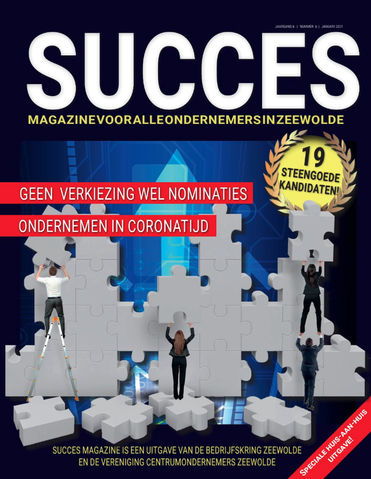 <strong>SUCCES MAGAZINE 2021</strong>