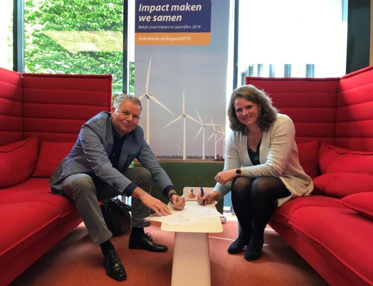 Rabobank verlengt sponsorcontract ondernemersverkiezingen Zeewolde